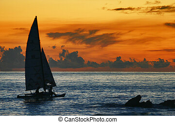Into The Sunset - Barbados in september