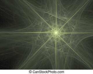 star of bethlehem - abstract star, great detailing and depth