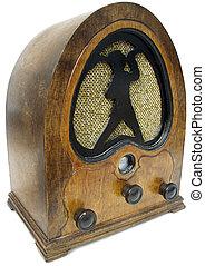 Retro radio - Set from the 1940s