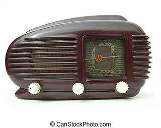Funky radio - Retro set from eastern Europe
