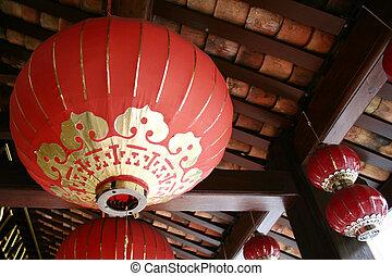 Chinese Lanterns in Chinatown.