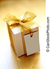 Appreciation gift with a note. note is left blank for...