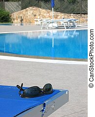 Poolside - Sunlounger by the pool
