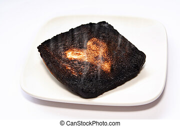 Been Burnt Before - Badly burnt Toast safe for the middle...