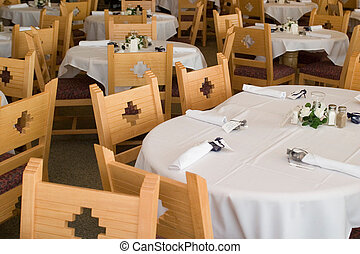 wedding reception - southwestern wedding reception