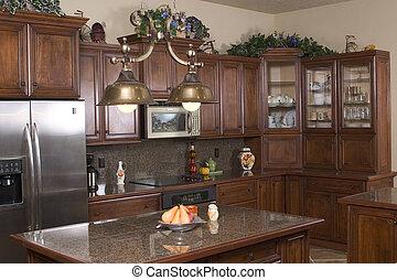 kitchen - a modern kitchen