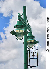 Street Light - Careenage, Bridgetown, Barbados.