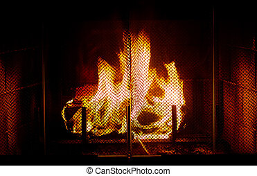 Fireplace - Photo of a Fireplace