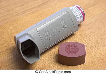 Inhaler - Asthma inhaler