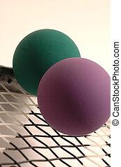 Racquetball, equipo