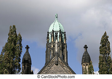 Copper Roof - Trinity College, University of Toronto.