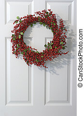 Holly Wreath - Christmas holly wreath