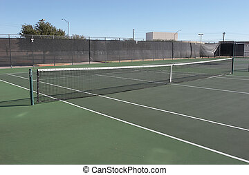 Tennis Court - View of a tennis court