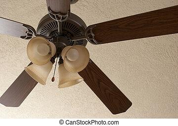 Ceiling Fan - A ceiling fan