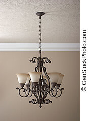 Chandelier - Wrought iron chandelier
