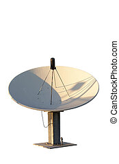 Satellite Dish - Isolated satellite dish