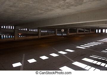 Parking Garage - Empty parking garage