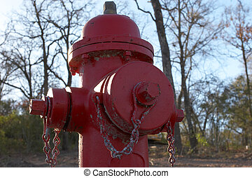 Fire Hydrant - Fire hydrant up close