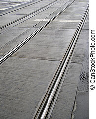 Tramlines - Route for trams in the Czech capital Prague