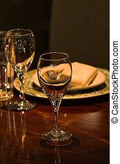 Dinner setting - Fancy restaurant