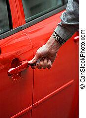 New car owner - Keys to new car