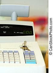 Cash register - Register in local pharmacy