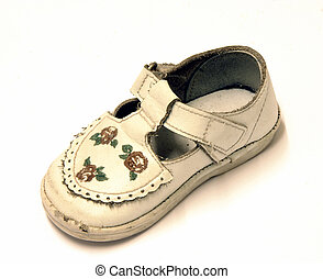 bébé, chaussure