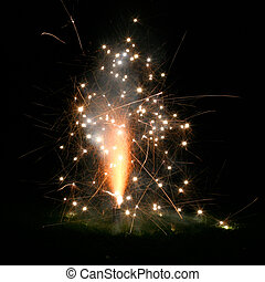 Small Firework Explosion