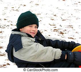 Child play winter