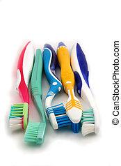 colorido, Cepillos de dientes