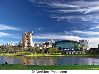 Adelaide - City of Adelaide - River Torrens