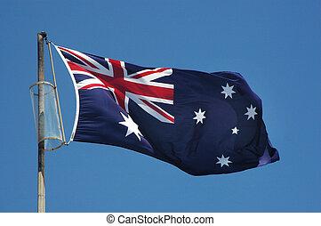 Australia Flag - Flying Australia Flag