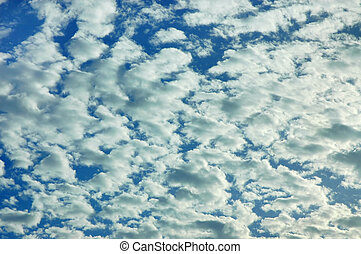High Clouds - Altocumulus