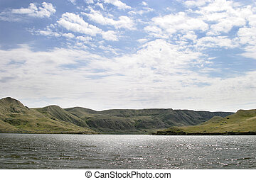 River Hills - South Saskatchewan river hills, near Beaver...