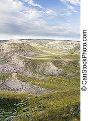 South Saskatchewan River Hills - River Hills near Beaver...