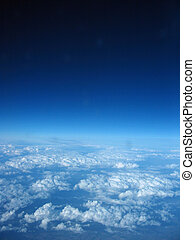 Cloud Formations - Cloud formations from the aeroplane...
