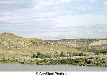 River Hills - South Saskatchewan River Hills, on Diefenbaker...