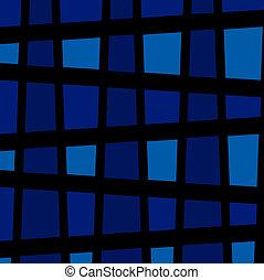 blå, bakgrund