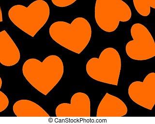 Heart Background Ora