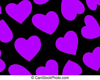 Heart Background Pur