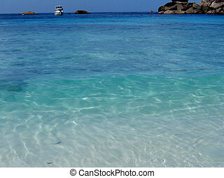 Turquoise Wave #6 - Wave on a beach in Thailand\\\'s Similan...