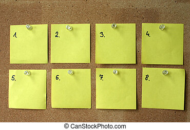 blank post-its 4
