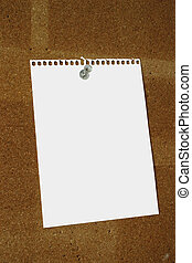 blank sheet - the surface of the sheet is intentionally made...