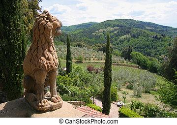 tuscan, Leão