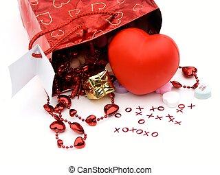 regalo, bolsa, presentes, 2