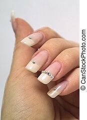 francês, manicure