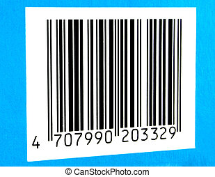 bar code #2 - It is a bar code of a non-existent product