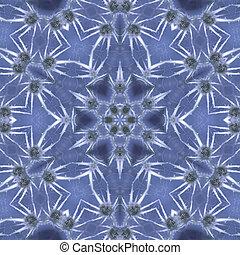 azul, gelo