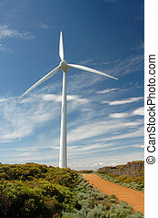 Wind Mill - Will Mill at the wind farm in Albany, Australia