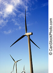 Future Power - Wind power generator in North England